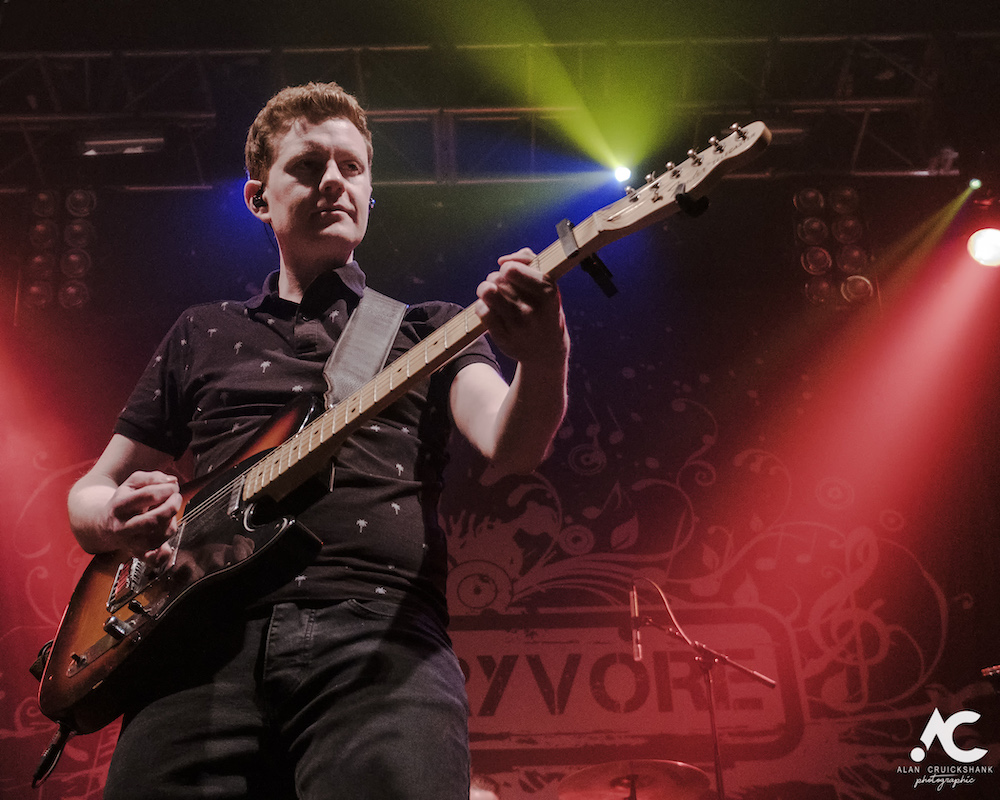 Skerryvore with City Of Inverness Pipe Band and Runrigs Iain Bayne December 2018 Ironworks Inverness November 2018 9a - Skerryvore, 7/12/2018 - Images