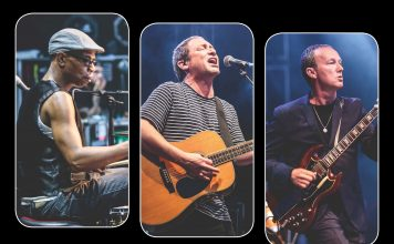 Ocean Colour Scene for the Ironworks in July