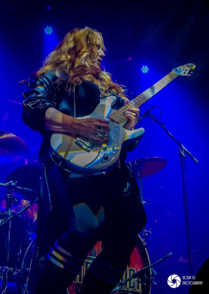 UFO with Tara Lynch at Ironworks in March 2019 524 428x600 - REVIEW AND IMAGES - UFO, Ironworks Inverness.