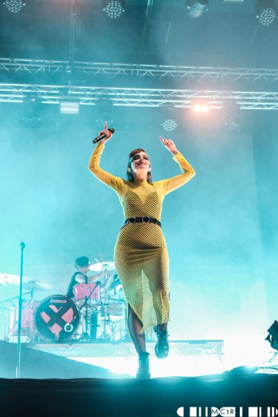 Chvrches 15 400x600 - Chvrches, Belladrum 2019 - Images