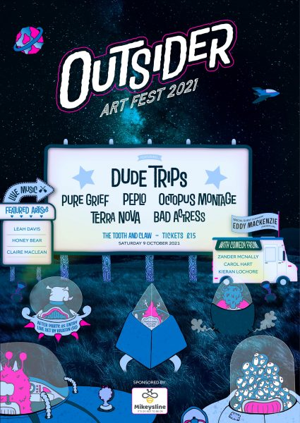 153421801 1101483773648171 8753442708966910031 n 425x600 - Dude Trips and more announced for Outsider Art Fest 2021