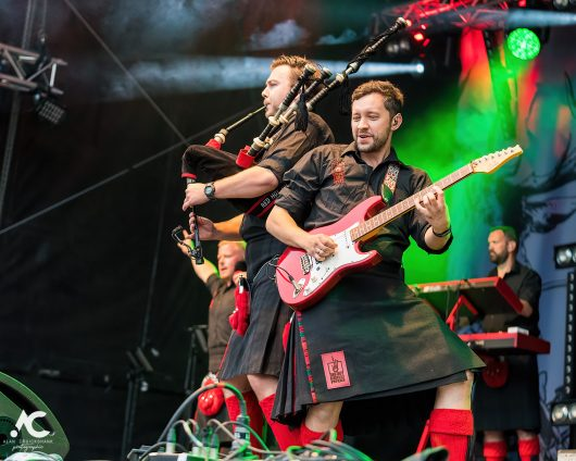 Red Hot Chilli Pipers at The Gathering Inverness September 2021 51 530x424 - It's Time For The Gathering 2021 - Images