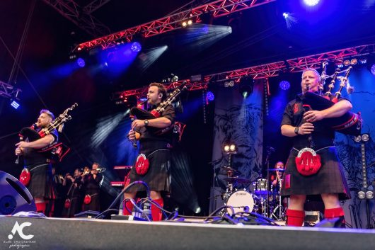 Red Hot Chilli Pipers at The Gathering Inverness September 2021 52b 530x353 - It's Time For The Gathering 2021 - Images